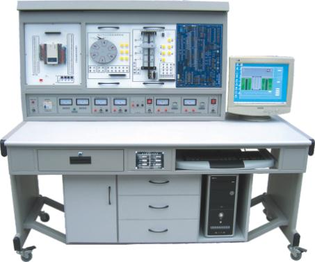 PLC可编程控制系统、微机接口及微机应用综合实验装置