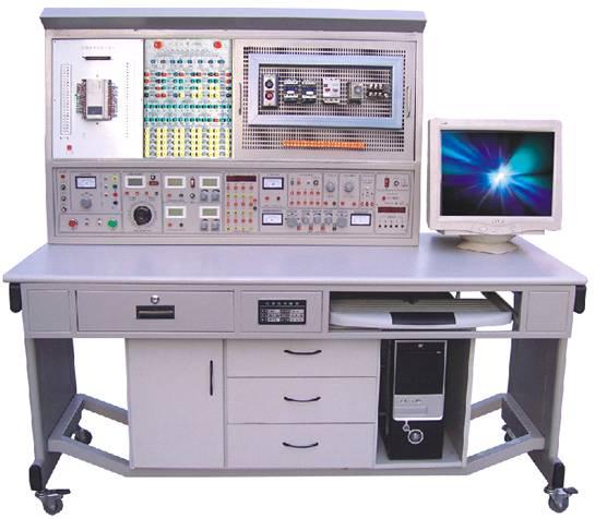 电工模电数电电拖PLC单片机传感器技术综合实训考核装置