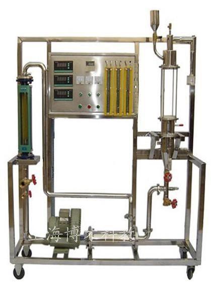 bcc-614型固体流态化演示实验装置 bcc-615型板式塔流体力学演示实验